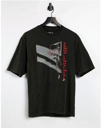 Nike Nike - MJ Flight - T-shirt nera con grafica - Nero