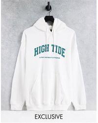 New Girl Order Exclusive High Tide Sweatshirt - White