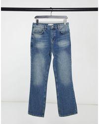 ASOS – Bootcut-Jeans - Blau