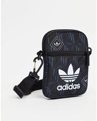 adidas Originals Черная Маленькая Сумка -черный Цвет