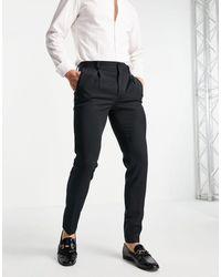 ASOS Super Skinny Smart Pants - Black