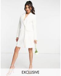 Y.A.S - – Exclusive Bridal – Blazerkleid - Lyst