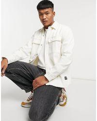 Pull&Bear Рубашка Навыпуск Светло-бежевого Цвета -нейтральный - Естественный