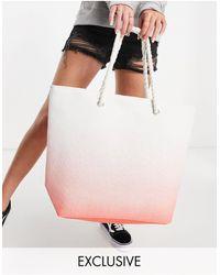 South Beach Beach Bag - Orange