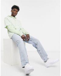 ASOS Dad Jeans In Bleach 90's Wash - Multicolor