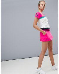adidas Tennis Skirt In Hot Pink