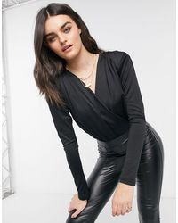 Vero Moda Wrap Body - Black