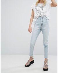 Cheap Monday - High Waist Slim Fit Jean - Lyst