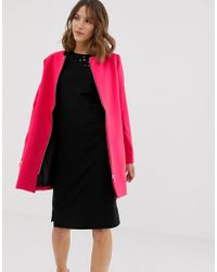 B.Young Zip Front Jacket - Pink