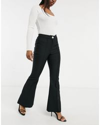 River Island Flared Jeans - Black