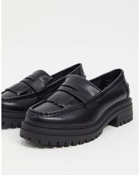 ASOS Melon Chunky Loafers - Black
