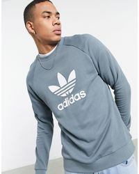 adidas Originals Adicolor - Sweat-shirt à grand logo (ensemble) - sarcelle - Vert