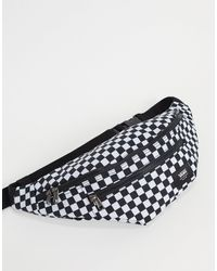 Vans Ward Checkerboard Cross-body Bag - Black