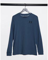 Under Armour Sportstyle Logo Long Sleeve T-shirt - Blue