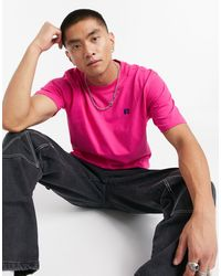 Russell Athletic Baseliner T-shirt With Chest Logo - Pink