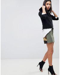 G-Star RAW - Camoflage Combat Skirt - Lyst