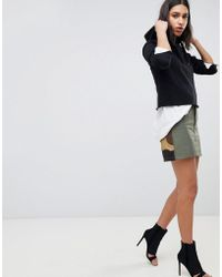 G-Star RAW Camoflage Combat Skirt - Green