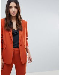 Y.A.S Blazer ajusté - Orange