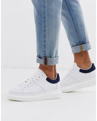 Loyalty & Faith Weiße Sneaker mit dicker Sohle