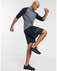 Under Armour - Training Tech Graphic Shorts - Lyst