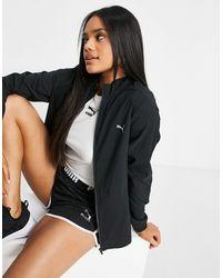 PUMA Куртка На Сквозной Молнии Running Favorite-черный Цвет