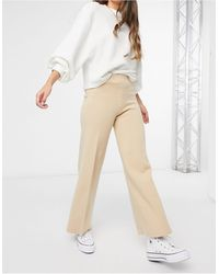 Mango Knitted Trouser Co-ord - Brown