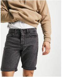 Only & Sons Shorts vaqueros - Negro