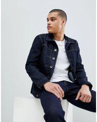Benetton Denim Jacket - Blue