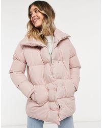 Threadbare Дутое Пальто Dorata-розовый Цвет