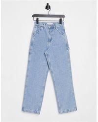 TOPSHOP Carpenter Jeans - Blue