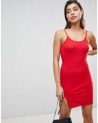 Ivyrevel - Mini Dress With Slit In Rib Jersey - Lyst