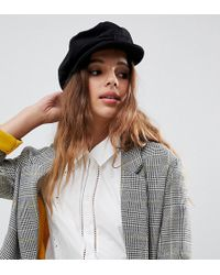 Brixton - Unstructured Baker Boy Hat In Washed Black - Lyst