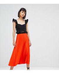 edc957fb4 Lyst - Women's Mango Knee-length skirts On Sale