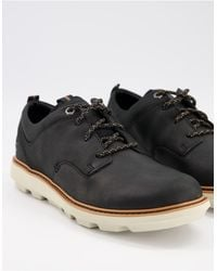 Caterpillar Cat Brusk Lace Up Low Top Shoes - Black