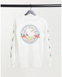 RIPNDIP Ripndip Unicorn Rider Long Sleeve T-shirt - White