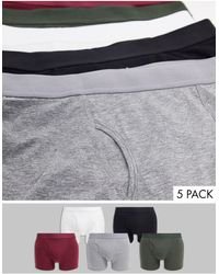 Weekday 5-pack Johnny Boxers - Multicolor