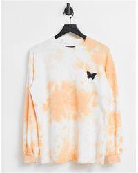 Threadbare Butterfly Sweatshirt - Orange