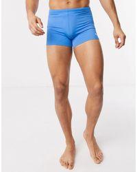 PUMA Swim Trunks With Drawstring Waist - Blue