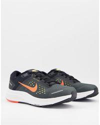Nike - Черно-оранжевые Кроссовки Running Air Zoom От Nike-черный - Lyst