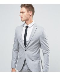 SELECTED - Super Skinny Suit Jacket In Tonic - Lyst