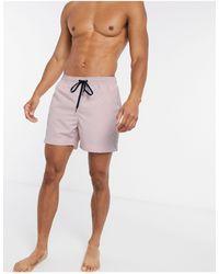 Tommy Hilfiger Шорты Для Плавания С Логотипом И Полосками -розовый - Многоцветный