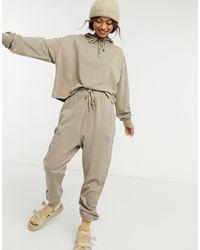 ASOS Tracksuit Hoodie/sweatpants - Brown