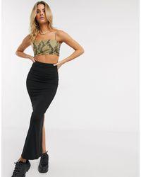 ASOS Maxi Pencil Skirt - Black