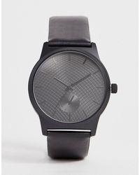 ASOS Черные Часы С Дополнительными Циферблатами - Серый