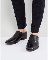 ALDO - Ales Brogue Monk Shoes In Black - Lyst