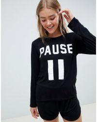 Adolescent Clothing - Pause T-shirt And Shorts Pyjama Set - Lyst