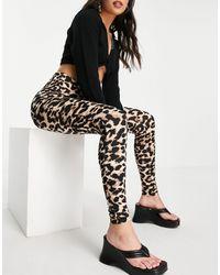 Vila Skinny Trousers - Black