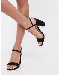 Office Hollie Block Heeled Sandals - Multicolour