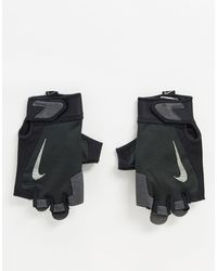 Nike Черные Мужские Перчатки Training-черный Цвет