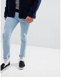 Just Junkies Skinny Jeans - Blue